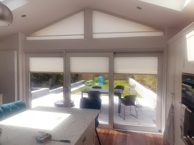 Gable Pleated Blinds fitted in Walkinstown, Dublin 12