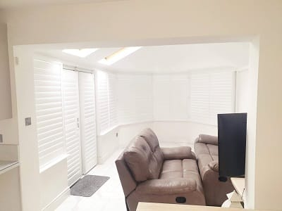 Large Plantation Shutters installed in Coolock, Dublin 17