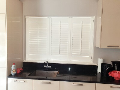 Vienna and Weston Range Shutters fitted in Rush, Dublin.