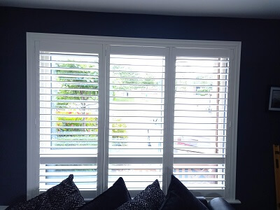 Apex Style Titan & Weston Shutters fitted in Termonfeckin, Louth