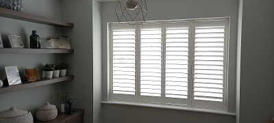 Ashbourne, Co Meath. Stunning Window Shutters from our Weston Range